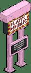 Plato's Republic Sign