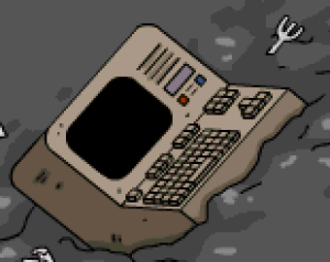 Press Any Key Computer TSTO
