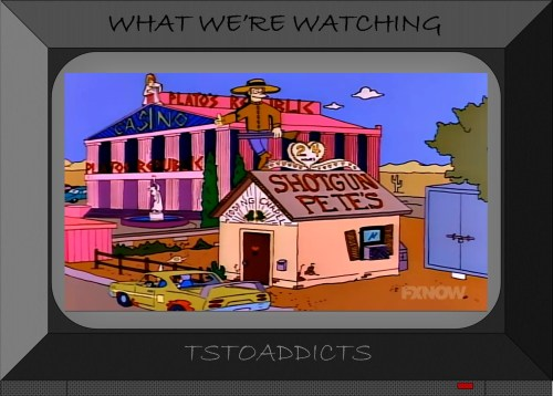Shotgun Pete's Wedding Chapel Plato's Republic Casino Simpsons