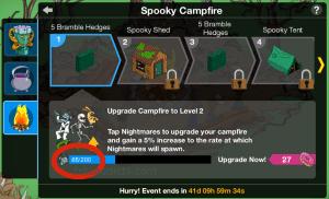 Spooky Campfire Needs Zombies