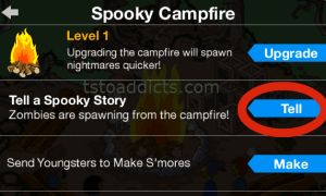 Spooky Campfire Pop Up Tell A Story