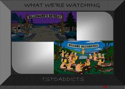 Billionaire's Retreat Simpsons