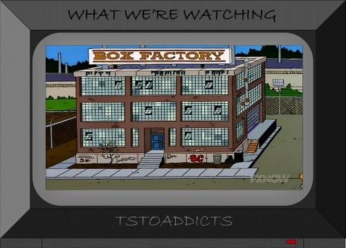 Box Factory Simpsons