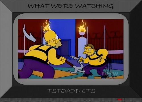 Deep Space Homer Star Trek Simpsons