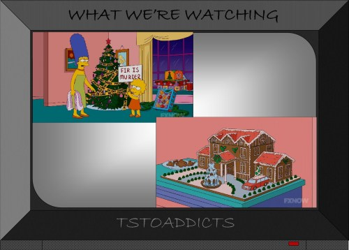 Fir is Murder Gingerbread McMansion Simpsons