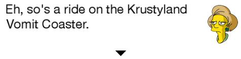 Krabappel Krustyland TSTO Dialogue