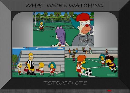 Sophie Krustofski Soccer Simpsons
