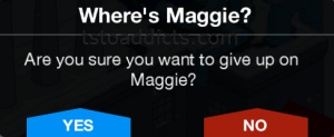 Where's Maggie Give Up