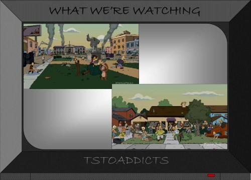 Zombie Muncher Apocalypse Simpsons