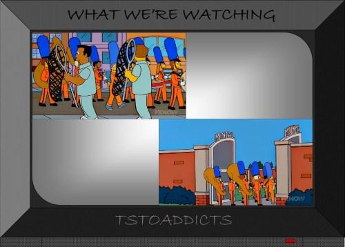 Insane Marge Mental Asylum Marching Band Simpsons