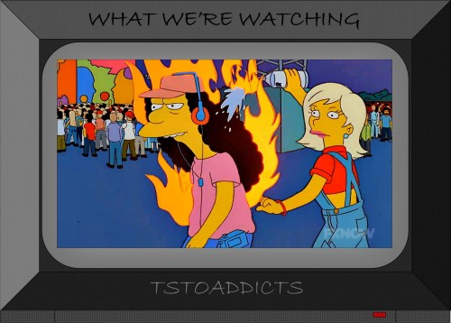 Otto & Becky Summer of Love Woodstock 99 Simpsons