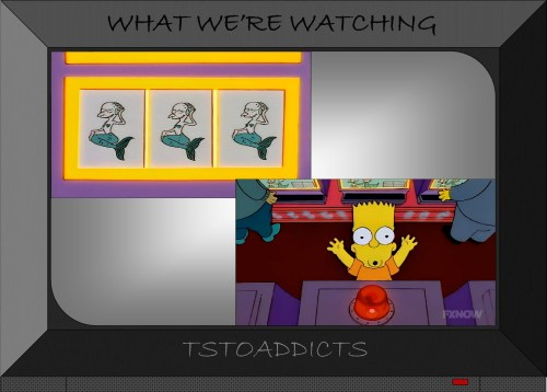 Bart Simpson wins the jackpot