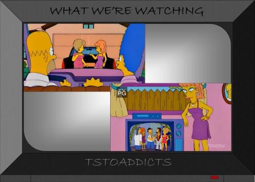 Vegas Wives Simpsons