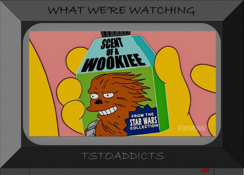 Scent of a Wookiee Simpsons