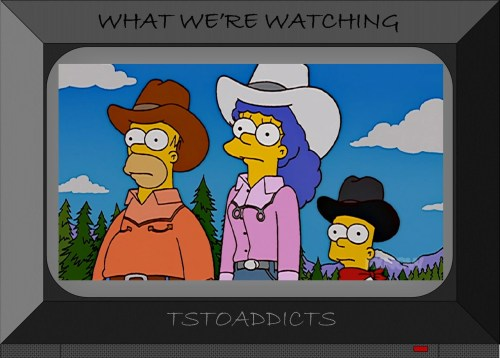 Simpsons Western Outfits Marge Homer Bart