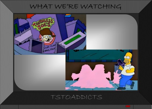 Toothless Joe's Gum Simpsons