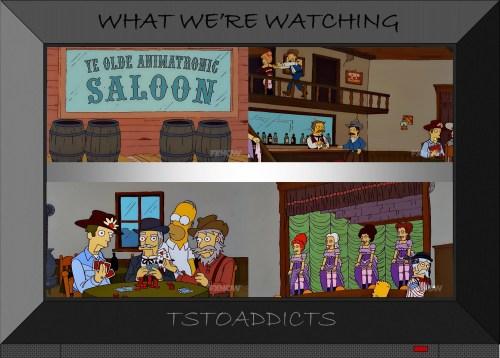 Ye Olde Animatronic Saloon Simpsons