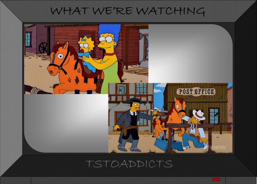 Hitched Horse Simpsons