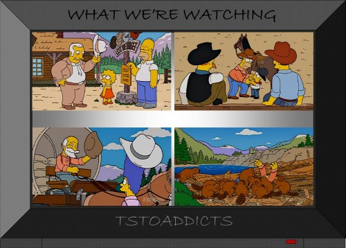 Lazy I Ranch Simpsons