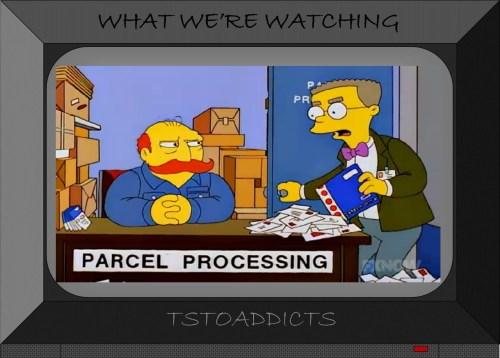 Parcel Processing Simpsons