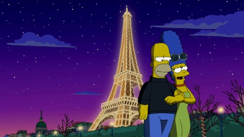"""THE SIMPSONS: Homer promises Marge the trip of a lifetime in the """"To Courier with Love"""" episode of THE SIMPSONS airing Sunday, May 8 (8:00-8:30 PM ET/PT) on FOX. THE SIMPSONS ™ and © 2016 TCFFC ALL RIGHTS RESERVED. CR:FOX"""