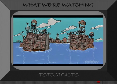 Aqua World Radioactive Man Simpsons