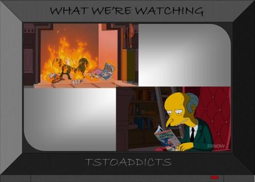 Burns Detection Comics Simpsons