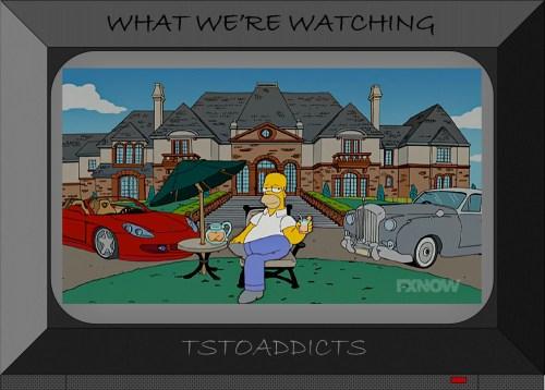 Burns Summer Mansion Home Simpsons