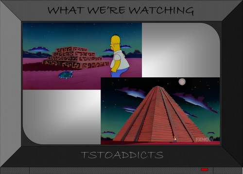 Mesoamerican Pyramid Simpsons
