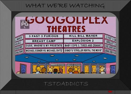 Springfield Googolplex Theatres Simpsons 3