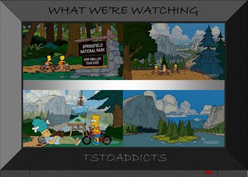 Springfield National Park Simpsons