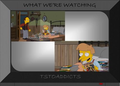 Young Montgomery Burns The Good Sheperd Comic Simpsons