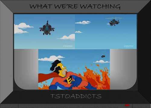 Attack Helicopter Everyman Movie Simpsons