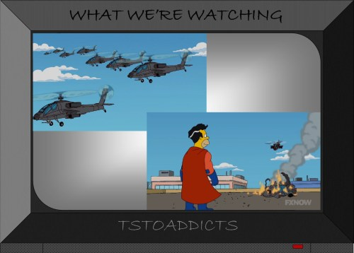 Attack Helicopters Everyman Movie Simpsons