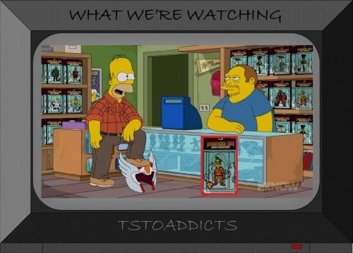 Fallout Boy Action Figure Simpsons