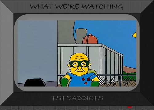 Mickey Rourke Fallout Boy Simpsons