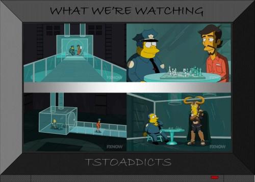 Plastic Prison under Springfield Police Department Loki Simpsons