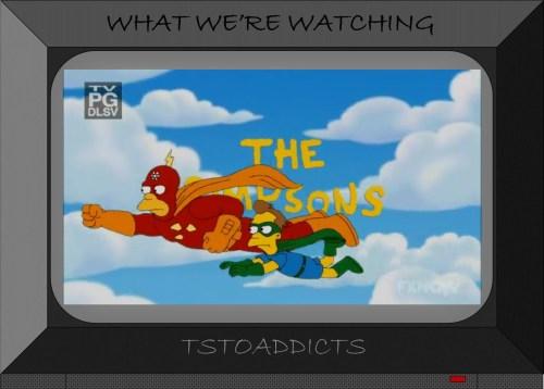Radioactive Man & Fallout Boy Simpsons