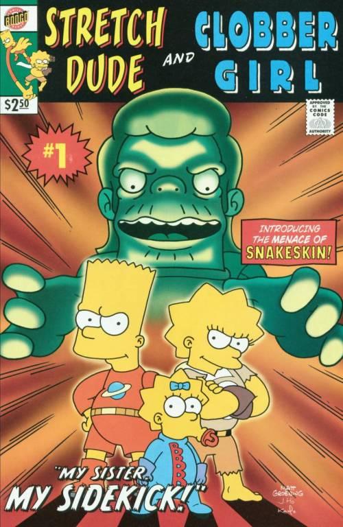 Simpsons Comic #60 Back Side