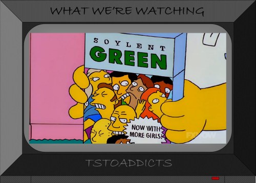 Soylent Green Now with More Girls Simpsons