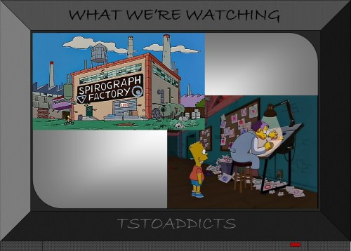 Spirograph Factory Simpsons