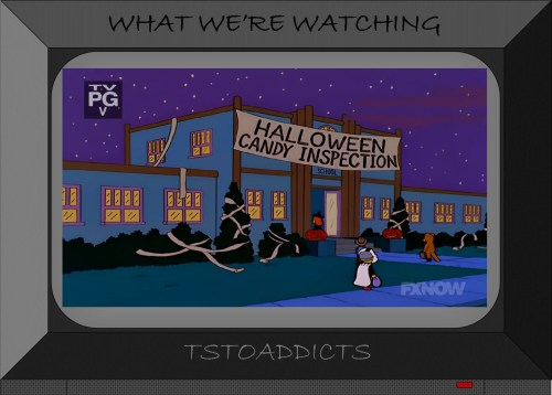 Springfield Elementary Halloween Candy Inspection Simpsons
