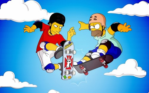Tony Hawk Simpsons