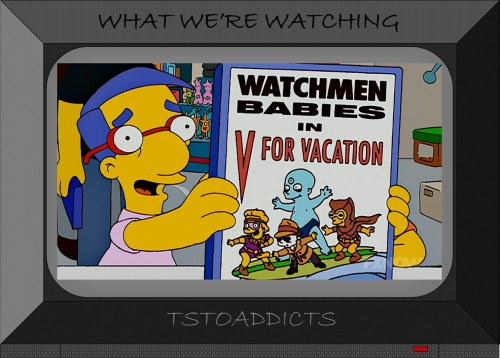 Watchmen Babies in V for Vacation Simpsons