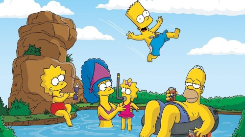 ws_The_Simpsons_Swimming_1920x1080