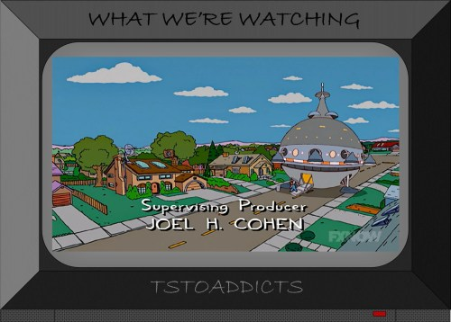 Mobile Dome Garbage Truck Future Simpsons