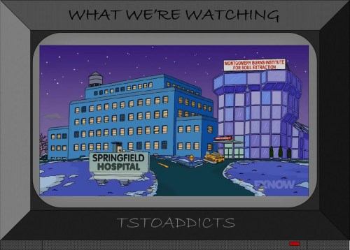 Montgomery Burns Institute for Soul Extraction Simpsons