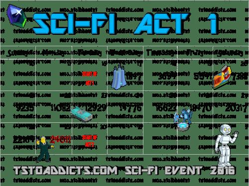 Sci Fi Act 1 Calendar