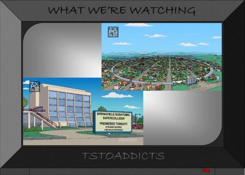 Springfield Subatomic Supercollider Simpsons