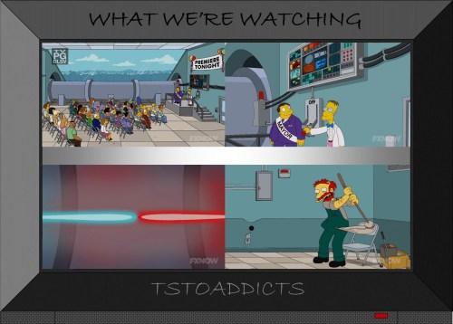 Springfield Supercollider Paticle Collison creates Black Hole Simpsons